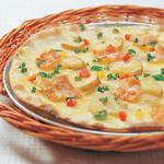 ピッツェリア - ポテトとベーコンのクリーム