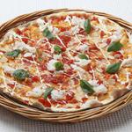 ピッツェリア - カニとトマトのピッツァ