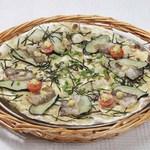 ピッツェリア - イベリコ豚となすと生姜