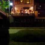 まんざら - 対岸から見る団栗橋店