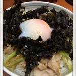麺こい・わ - 上町丼650円 2014.6