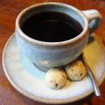 Sunny - ドリンクセット(\250)のコーヒー!クッキーもついてます☆