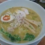 拉ノ刻 - 鶏白湯ラーメン