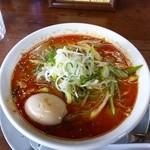 麺房 十兵衛 - 旨辛味噌ラーメン+味玉
