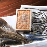 テリーズレストラン - 新鮮な魚介を使用しております。