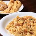 テリーズレストラン - 北海道産ウニのフィットチーネ自家製生パスタ