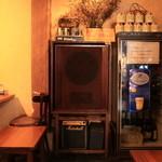 テリーズレストラン - こだわりの音響機器