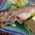 亀ぬ浜 - 地元の方に勧められたお魚料理 名前はわかりません