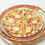 ピッツェリア - 料理写真:ソーセージとポテトのミックス