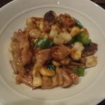 SLOTH - 鶏とカシューナッツ炒め