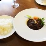 シャトン - 県産和牛ほほ肉の赤ワイン煮