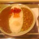 マサカレー - マサカレーと豆カレーのハーフ&ハーフ 700円也(税込)