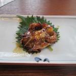 日本料理 梅林 - うなぎ定食(かしら焼)¥3880@'14.6.上旬