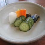 日本料理 梅林 - うなぎ定食(香の物)¥3880@'14.6.上旬