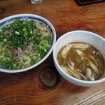28677048 - 【再訪】つけ麺中盛(つけ汁:普通)