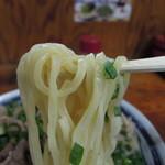 28677063 - 【再訪】つけ麺の麺は太麺