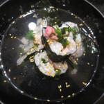 長次郎   - 4月「寿司屋の鯛茶漬け」