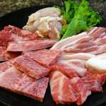 焼肉森山 - 料理写真:佐賀黒毛和牛の森山牛です