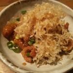 ふく鶴 - (コース)鶏皮ポン酢