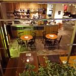 CAFE PARK - お店は半地下になります