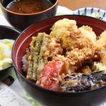 天ぷら ひさご - 夏のアキバ天丼