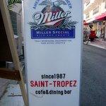 2868436 - 道路上に置いてある看板です。こっちはmillerのロゴが入っていますよ。お店は1987年にオープンしたようですね。もう20年近くやっているんですね。