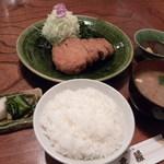 とんかつ元禄 - 定食のセット