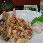 鯛八鮨 - 2014年6月 ランチの天丼 美味しかった~♪