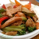 28683710 - 鶏肉と野菜のオイスターソース炒めごはん☆700円