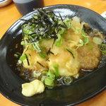 魚介 - 揚げ出汁豆腐240円