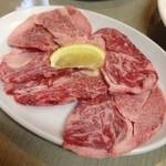 焼肉ホルモン処じゅうとく - 料理写真:じゅうとく@矢野で焼肉。次回はホルモン汁もいただきたい。