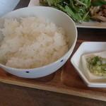 SO - きまぐれSOランチ:ご飯・小鉢