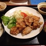 居さかな屋 みよし - 鶏肉の竜田揚げ定食  780円