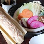 鳥亭 - 料理写真:ふわとろつくね鍋