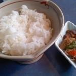創作カジュアルフレンチ 星家 - ご飯と野菜煮物