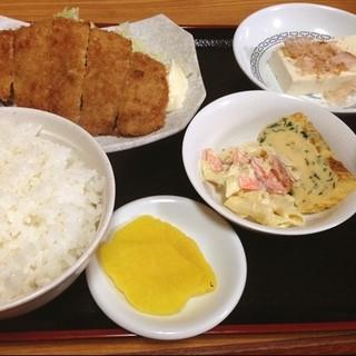 食事処 栄 - カツ定食