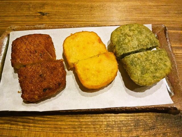 ハルコロ - イモシトセット(かぼちゃ・イモ・ヨモギ) 500円