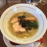 鶏骨スープ 青桐 - 「吟ぼ☆し塩そば」780円