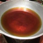 鳥元 - 鍋の汁