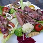 サブリナ - ビアガーデンの料理