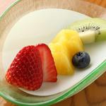 むらの - デザート 季節の果物