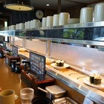 亀正くるくる寿司 - (2014/5月)カウンター席