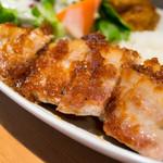 清水橋バル - 豚バラステーキ