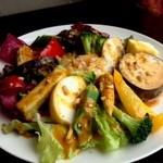 アガリコサユール - 料理写真:ガドガド  インドネシア蒸野菜サラダ