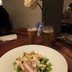 La Brasserie Laugh - 生ハムのサラダ:1000円
