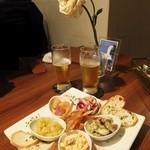 La Brasserie Laugh - 前菜5種盛り合わせ:1500円