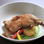 RING - 外はパリパリ、中はジューシー『鶏もも肉のコンフィ』
