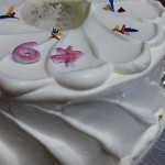 28704811 - 誕生日ケーキ 紅茶シフォン