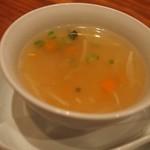 青藍 - 青藍ランチ(本日のスープ)