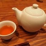 青藍 - お茶はポットのジャスミン茶